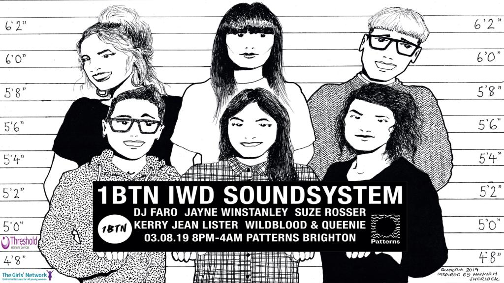 1BTN IWD Soundsystem at Patterns Brighton